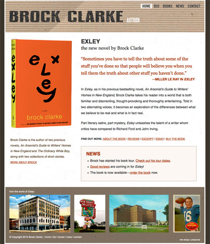 Brock Clark website