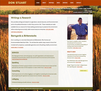 Don Stuart Website