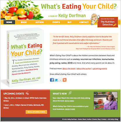 What's Eating Your Child website